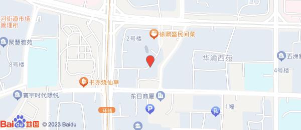 中德江湾丽景小区地图