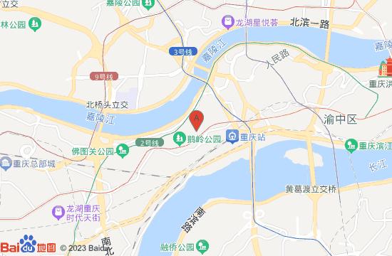 重庆鹅岭二厂文创园地图