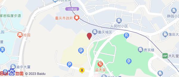 华庭嘉园小区地图
