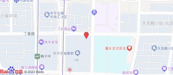 鲁能星城十一街区小区地图
