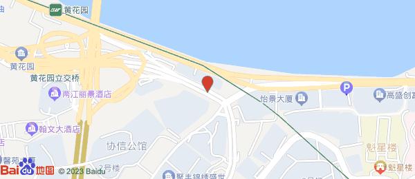 鑫渝花园小区地图