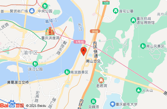 重庆长江索道地图