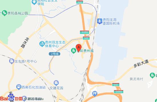 贵州多彩名人蜡像馆地图