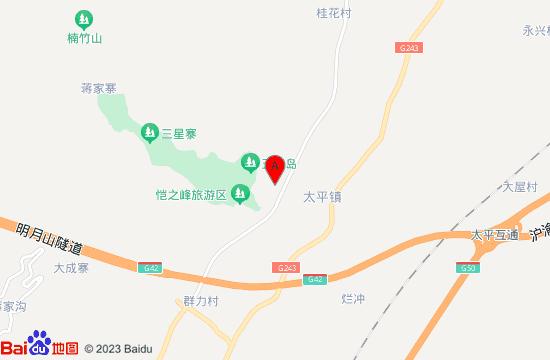 垫江太平牡丹园地图