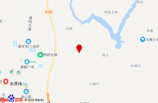 扶风扶杨温泉地图