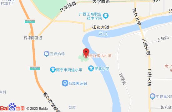 南宁青瓦房古村落地图
