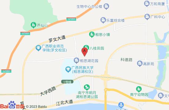 南宁八桂田园地图