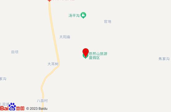 秦岭悠然山地图