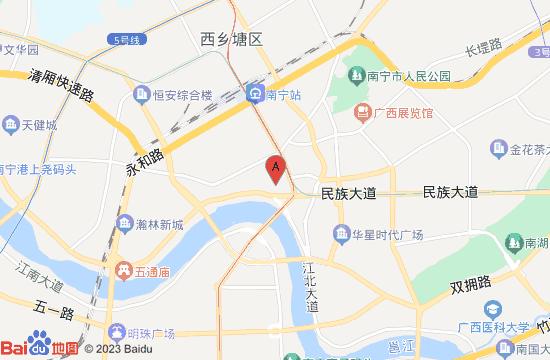 南宁失恋博物馆地图