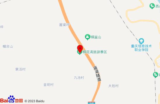 万州桐花湾美人谷游乐园地图