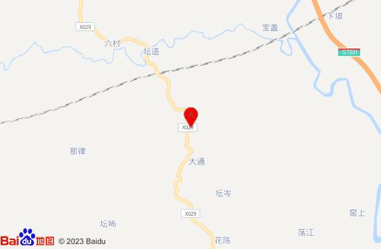 南宁侯哥花果山地图