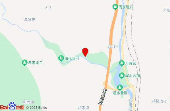 黔江毕兹卡水乐园地图