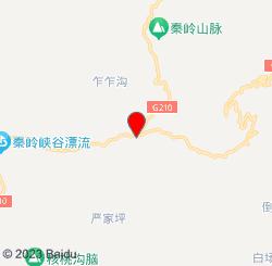 秦岭峡谷漂流