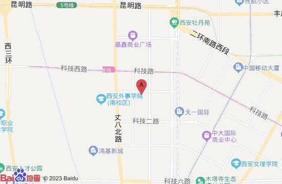 西安天禾温泉地图