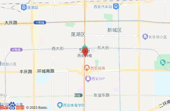 西安萤火虫星空艺术馆地图