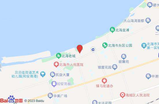 北海南珠博物馆地图