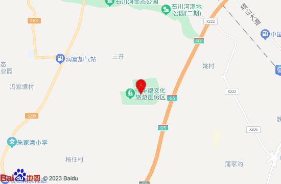 中华郡欢乐园地图