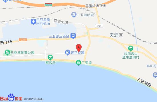 三亚启迪冰雪体育中心地图