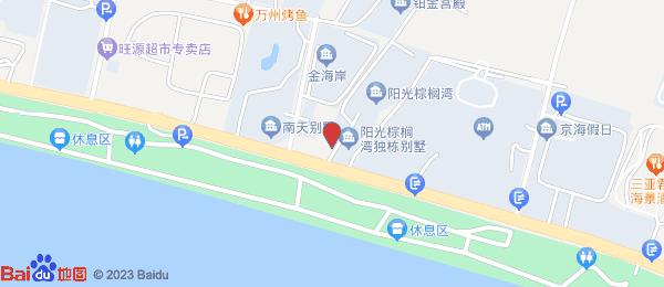 阳光棕榈泉国际公寓小区地图