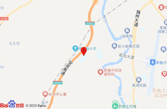 恩施泳洛温泉地图