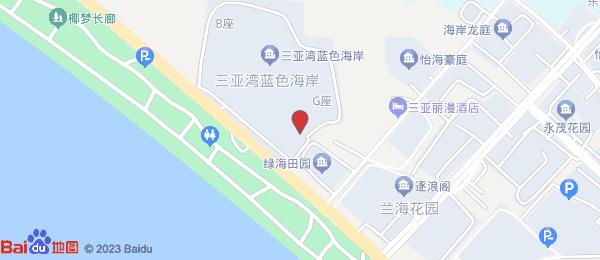 蓝色海岸小区地图
