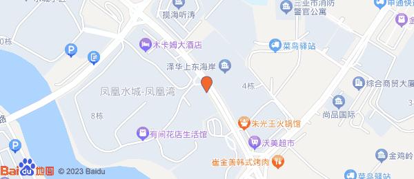 凤凰水城小区地图