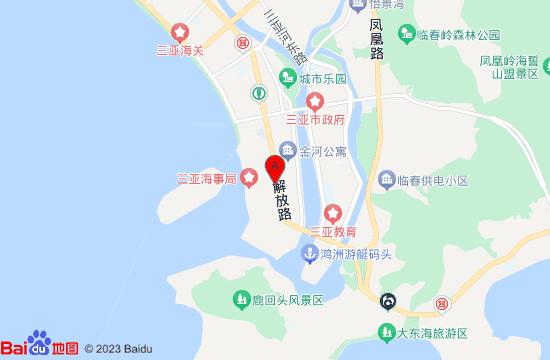 三亚失恋博物馆地图