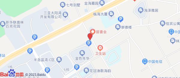 金色年华海景小区小区地图