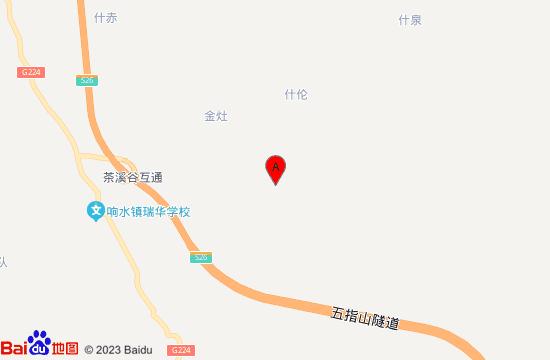 保亭常青茶溪谷地图