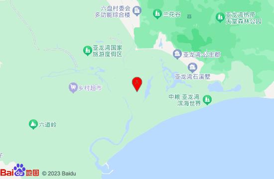 三亚秀都魔幻地图