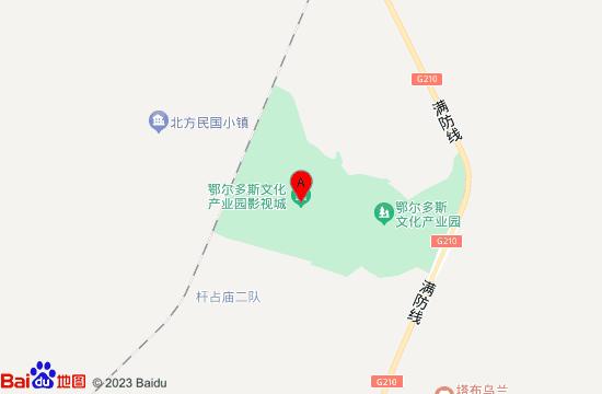 鄂尔多斯蒙古源流地图