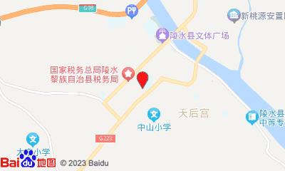 三亚陵水都乐国际影城周边地图