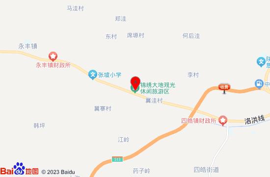 洛南锦绣大地花博园地图