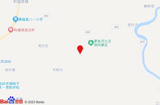 苦竹河大峡谷地图