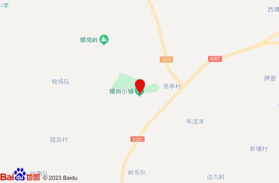 遂溪螺岗小镇地图