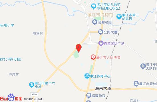 廉江美景世界游乐园地图