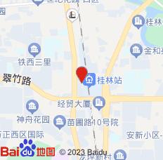 桂林瓦舍旅行酒店(南门桥店)位置图