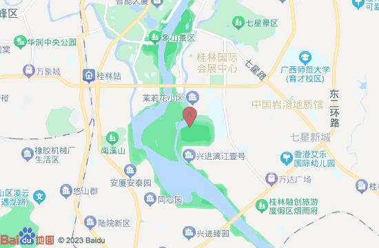 桂林穿山公园地图