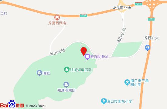 海口泰迪熊博物馆地图