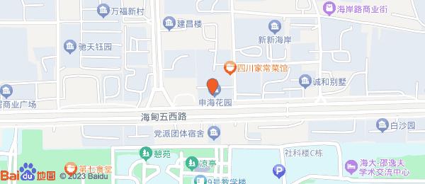 申海花园小区地图