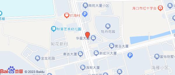华星大厦小区地图