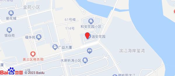 谐安花园小区地图