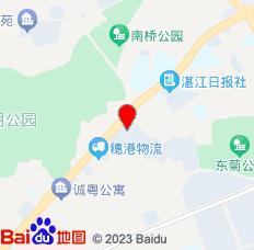 湛江赤坎尚景商务酒店位置图