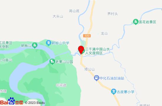 阳朔三千漓地图