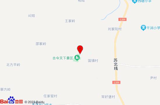 河津古今天下景区地图