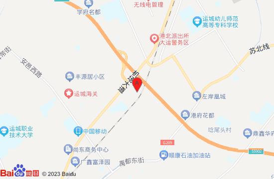 运城FLying极限蹦床公园地图