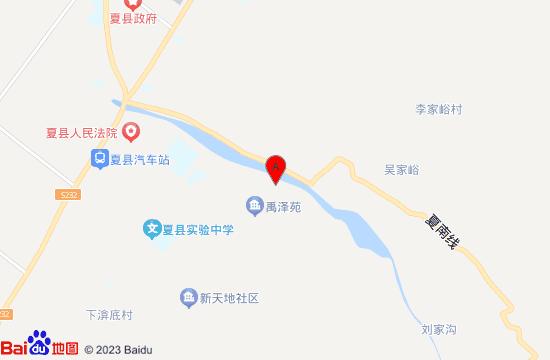 夏县传奇小鱼温泉地图