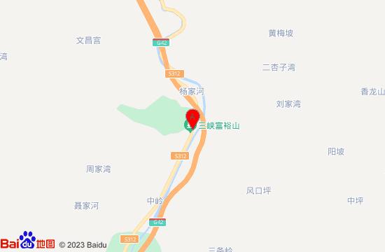 三峡富裕山地图