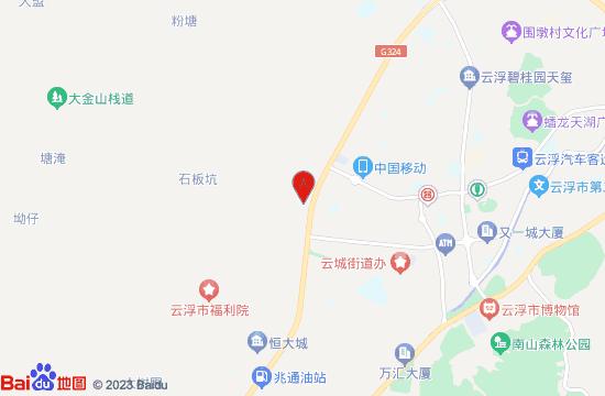 云浮爱情博物馆地图