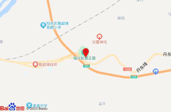 阳江松鼠王国乐园地图
